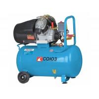Воздушный компрессор 2,2 кВт, 50 л, 2 цилиндра Союз ВКС-93255С