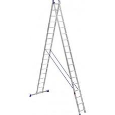 Лестница 2-х секционная Stark SVHR2x17 Pro