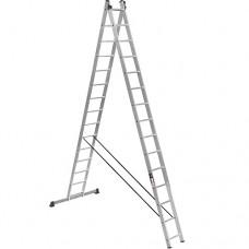Лестница 2-х секционная Stark SVHR2x15 Pro