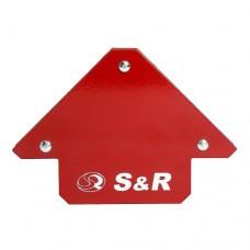 Магнитный угольник для сварки S&R 11кг. (45?,90?,135?)