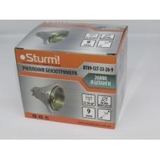 Сцепление бензотриммера, 33-56 см куб, 26мм, 9 зуб, Sturm BT89-CLT-33-26-9