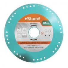 Алмазный диск по металлу Sturm 5170702, 125x22 мм