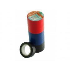 Изолента Энергомаш 7010-01-S10, 19 ммх10м, 10 шт., разноцветный