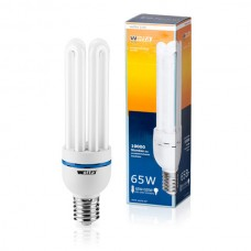 Энергосберегающая лампа 65Вт (325Вт) Wolta 10W4U65E40