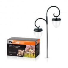Садовый светильник Wolta Solar пластик 2  жолудя 63 см Twins