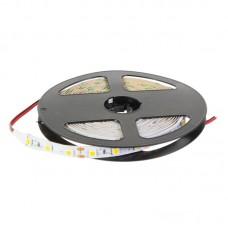 Светодиодная лента, 14.4Вт/60LED/м, свет тёплый белый, IP23 Wolta 13773467