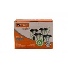 Садовый светильник WOLTA SOLAR , 30см, пластик SPB-30-4RGB